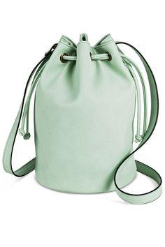 Drawstring Crossbody Bucket Bag, $25; target.com   - ELLE.com