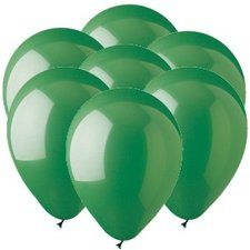 Green 11 inch Latex Balloons (25 count)