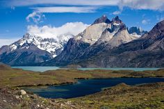 parc national Torres del Paine Chili paysages amerique sud Parc National Torres Del Paine, Antartica Chilena, Areas Protegidas, Chili, Beautiful Nature Scenes, Galapagos Islands, South America, Holland, Lakes