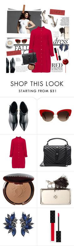"""""""Fall Look: Plus Size Dresses"""" by pippi-loves-music ❤ liked on Polyvore featuring Kim Kwang, Dolce&Gabbana, Lovedrobe, Yves Saint Laurent, Bobbi Brown Cosmetics, M. Gemi, Alexander McQueen, Gucci and dress"""