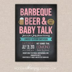 Baby shower for the guys and girls; just another reason to get together with friends.