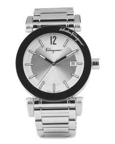 eb21606282c5 Men s Swiss Made Stainless Steel Watch - Watches - T.J.Maxx