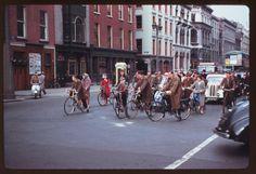 Dublin - when bikes ruled the road, 1950's