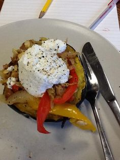 Guy Fieri's exclusive Clean Eating recipe - Stuffed Acorn Squash - as prepared by @collerhead. Mmmmmm (Find it in the April/May issue: http://www.shopmusclemag.com/product.asp?productid=2291)