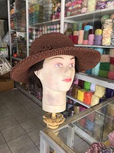 crochet hat Craft Shop, Loom Knitting, Headbands, Crochet Hats, Beanie, Crafts, Shopping, Fashion, Knitting Hats
