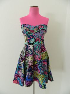 Betsey Johnson Floral Velvet Burnout Dress / Perfect Valentine&-39-s ...
