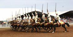 Fantasia au Maroc  à El Jadida