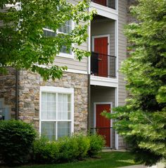 Check out the beautiful greenery around Pinehurst Apartments in Midvale, Utah.