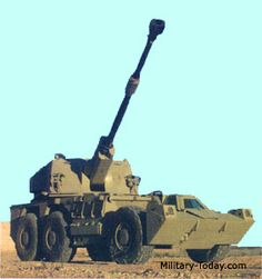 The self-propelled gun-howitzer is a further development of the combat proven Rhino