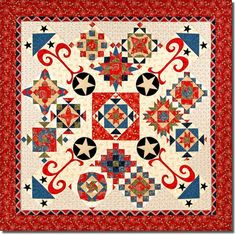 Fireworks in Prairie Park Exclusive Homespun Hearth PWP Quilt Kit