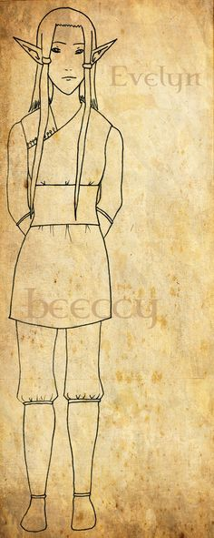 Evelyn by beeccy.deviantart.com on @DeviantArt