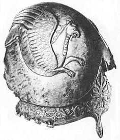 железный шлем, который был найден в 19 веке в городе Керчь, Украина. Основана в 7 веке до н.э. в качестве греческой колонии Милета, и призвал Пантикапей, он стал процветающим городом из-за торговых путей, которые пересекают из Европы и степей. По 480 до н.э., город Пантикапей стал столицей Королевства Босфор и в течение короткого периода, служили той же потенциал для Королевства Понта. Ближний вторая половина 4 века до н.э., Санкт-Петербург, Государственный Эрмитаж