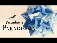 Origami ball / Kusudama Paradigma (Ekaterina Lukasheva) - YouTube
