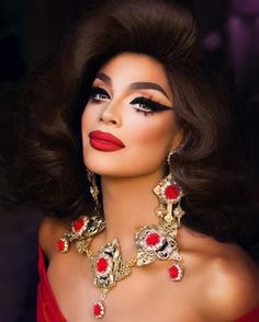 "15.3k Likes, 476 Comments - Valentina (@allaboutvalentina) on Instagram: ""Lady in Red Photo: @ernestocasillas Hair: @hisvintagetouch Earings and necklace: @reikolyn"""