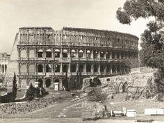 Colle Oppio Domus Aurea Colosseo anni 30