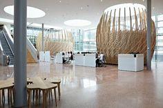 Rabobank beehive office in Utretch, NL by sanders architecten