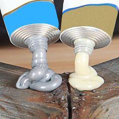 Magische metaal reparatie lijm   2 tubes kopen Super Glue, Cool Tools, Welding, Metal Working, Adhesive, The Cure, Place Card Holders, Plastic, Glass