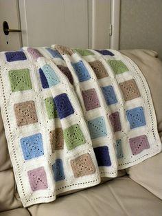 Patroon mooie deken en link naar onzichtbaar in elkaar zetten