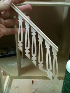 Architecture of Tiny Distinction: Little Stairs tutorial continued - made from lolly sticks