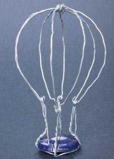 Montgolfière, balloon, mongolfiera - champagne Ivernel - designed by Gilles Tonnelé - placomusophilie, museletfolie, museletdesign, museletdartiste, muselet