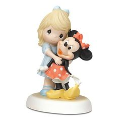 Disney Girl and Minnie Mouse Figurine by Precious Moments for $49.95