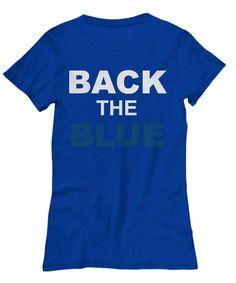 BACK THE BLUE WOMEN'S TEE SHIRT