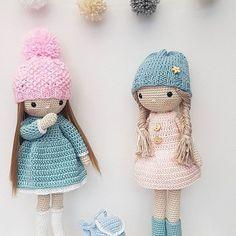 #dolls#crochet#handmade#love#lalki#uwielbiam#pastel colours #amigurumi#sweetheartscrochet#
