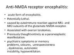 anti-nmda receptor encephalitis - Google Search