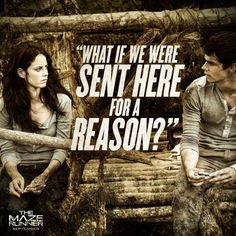 Kaya Scodelario and Dylan O'Brien. The director and cast talking about the maze runner movie ;)