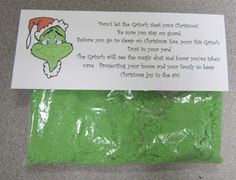 Swamp Frog First Graders: Making Grinch Dust Makes Grinch Day a Huge Hit!