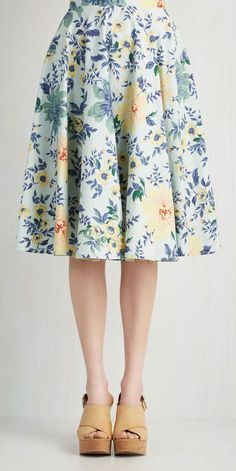 Library in Love Skirt