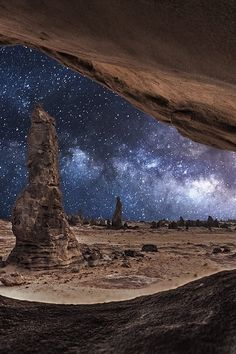 Framed milkyway by Meshari Aldulimi on 500px