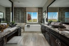HRI Design- The Messina  Model Bathroom
