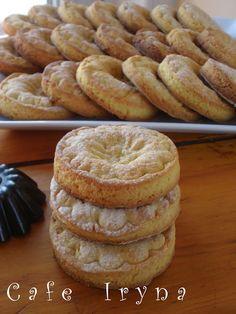 Сafe Iryna: Апельсинно-шафрановое печенье.