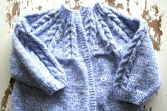Baby Boy Clothes Hand knit baby sweater knit baby by woolpleasure, $33.00