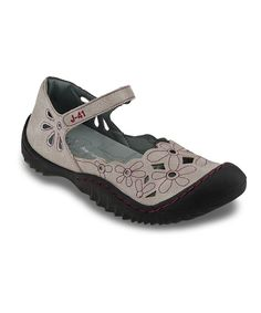 Look at this J-41 Footwear Cement Lotus Mary Jane on #zulily today!