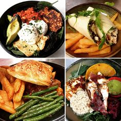 Winter menu at Poppy's Verandah Cafe! Vegetarian Breakfast Bowl, Chicken Caesar Salad Wrap, Steak & Guiness Pie, Warm Vegetable Salad and more!