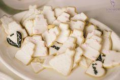Mini wedding cookies