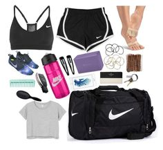 A fashion look from October 2015 featuring rolled sleeve t shirt, nike activewear and capezio shoes. Browse and shop related looks. Dance Wear, Dance Practice Wear, Jazz Dance, Latin Dance, Dance Workout Clothes, Ballet Clothes, Cheerleading Outfits, Ballroom Dance Dresses, Dance Leotards