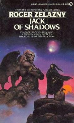 book cover of     Jack of Shadows     by    Roger Zelazny