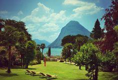 Park at the Hotel Villa Castagnola