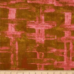 Basketweave Lattice Pink from @fabricdotcom  Designed by Marcia Derse for Troy Fabrics, this fabric is perfect for quilting, apparel and home decor accents. Colors include pink and copper.