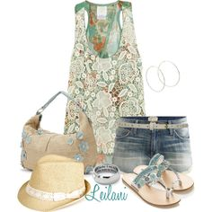 Ready for summer by leilani-almazan on Polyvore