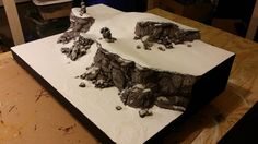 PAINTED 40K: Space Wolves Display Board, by Talented Lad Studios