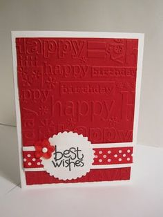 Card Embossing Ideas - Bing Images