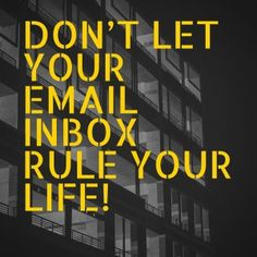 eeping your e-mail inbox organised and tidy can seem like a total nightmare to many of us. I collated 10 tips to help you get and stay 'inbox organised'.