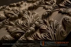 Quality of mouldings and cornices