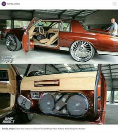 Custom Trucks, Custom Cars, Chevy Caprice Classic, Donk Cars, Chevy Muscle Cars, American Classic Cars, Cadillac Fleetwood, Old School Cars, Car Audio