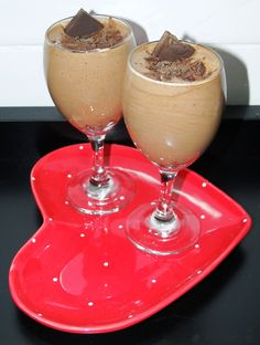 Mousse de Chocolate   Diário de uma ex gordinha