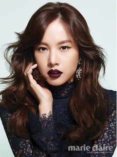 Jo Yoon Hee Marie Claire Korea Magazine October Issue '13